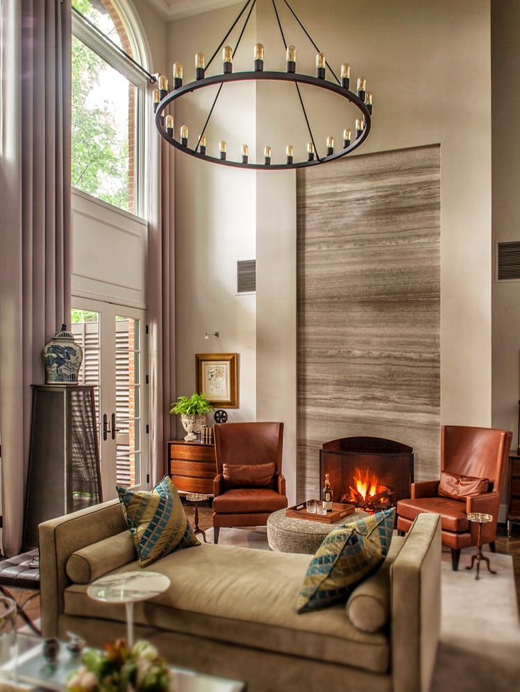 Niche Spark Chandelier Spotted In Washington Dc Great Room