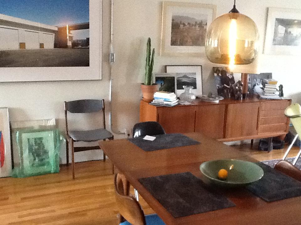 Stamen modern pendant in dining room stamen modern pendant in amber aloadofball Choice Image