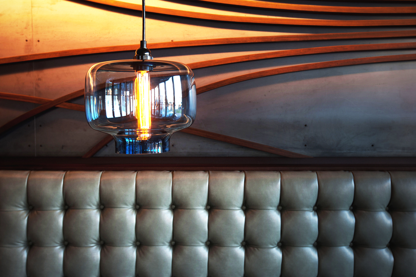 Outliers eatery   modern restaurant lighting done right