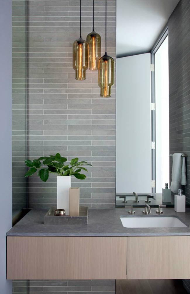 Bathroom Light Fixtures Nashville Tn pharos pendants in a modern nashville home