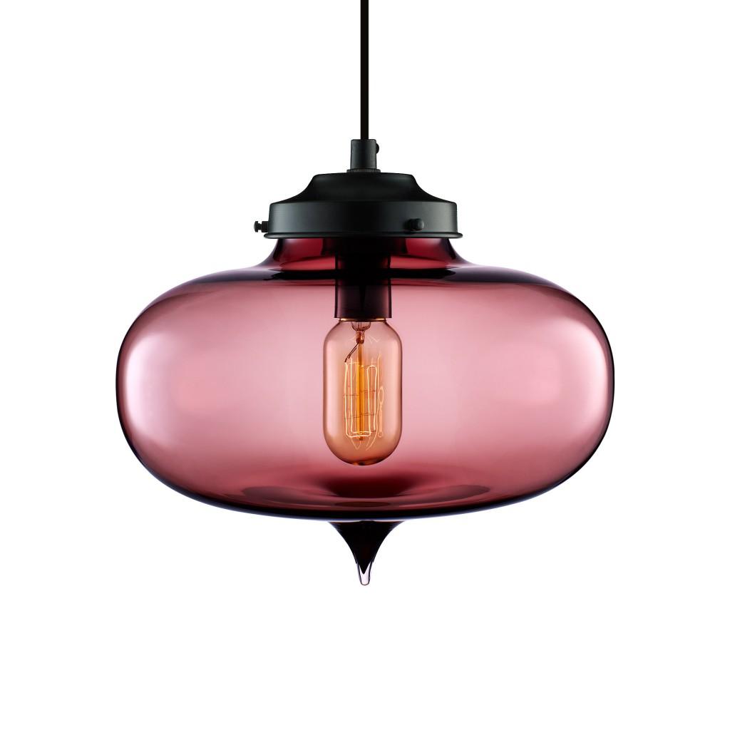 Blown glass light fixtures for Modern pendant lighting fixtures