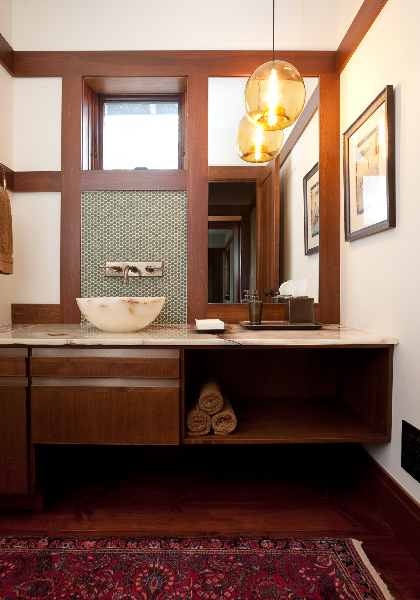 pharos and stamen pendants in residence on lake michigan amazing pendant lighting bathroom vanity