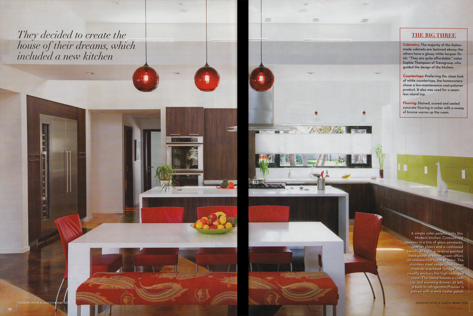 crimson solitaire pendants in phoenix home & garden magazine