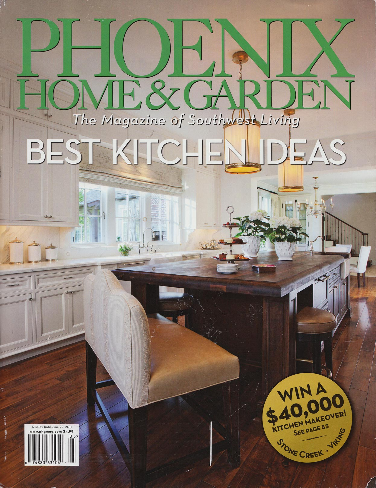Phoenix Home Garden Magazine Cover