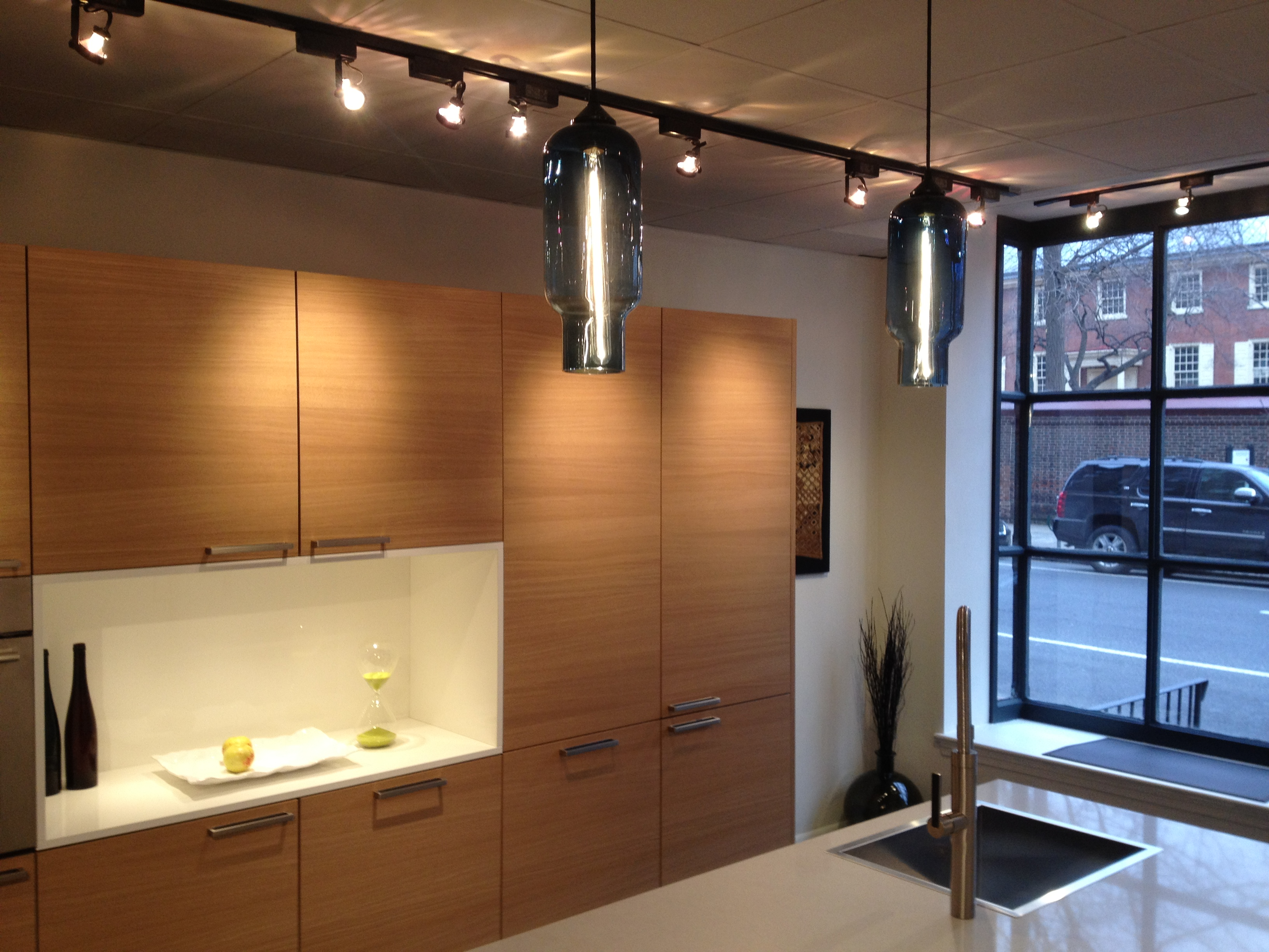 Pharos Pendant Lights at Eggersmann Studio in Philadelphia