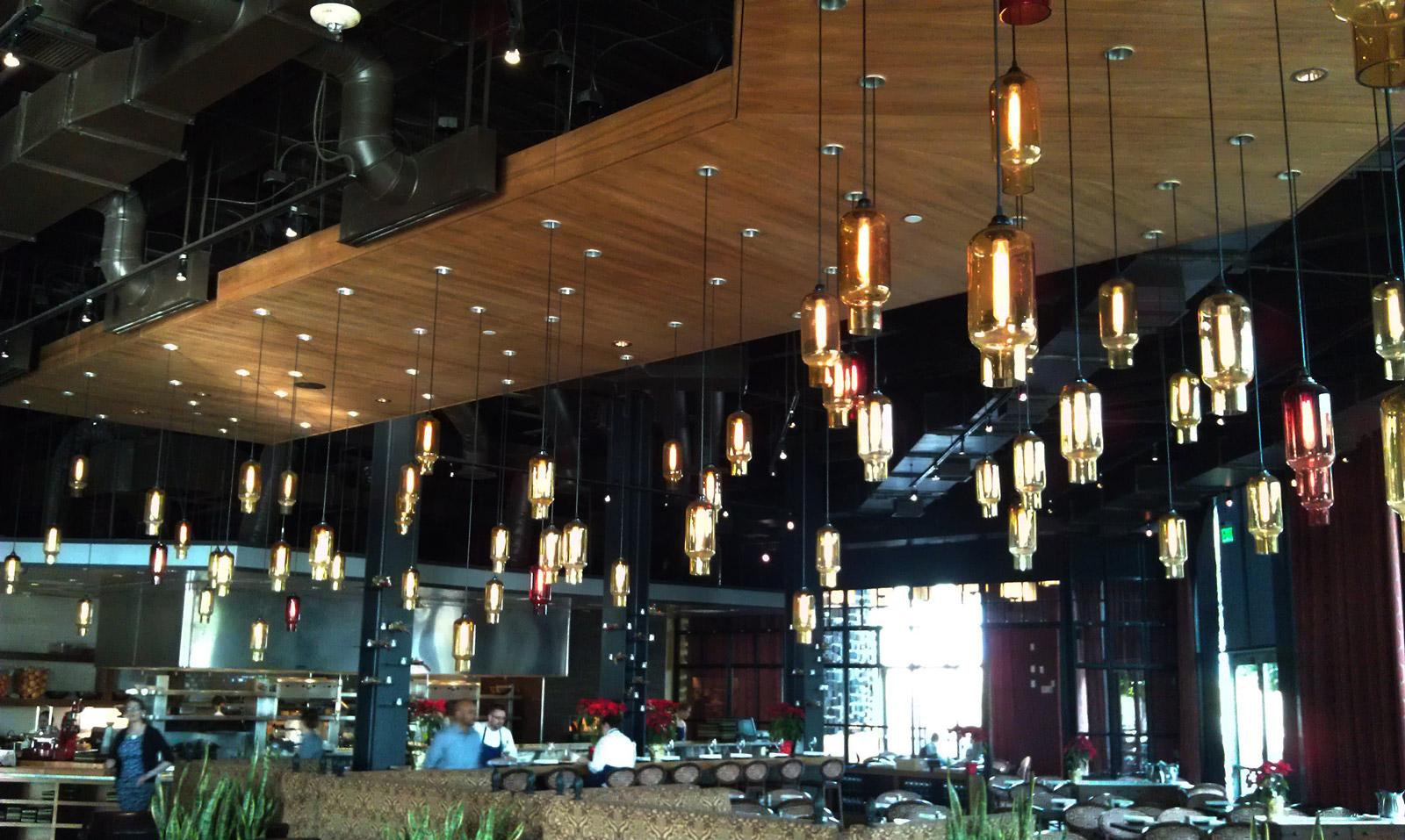 Lighting for restaurant ideas
