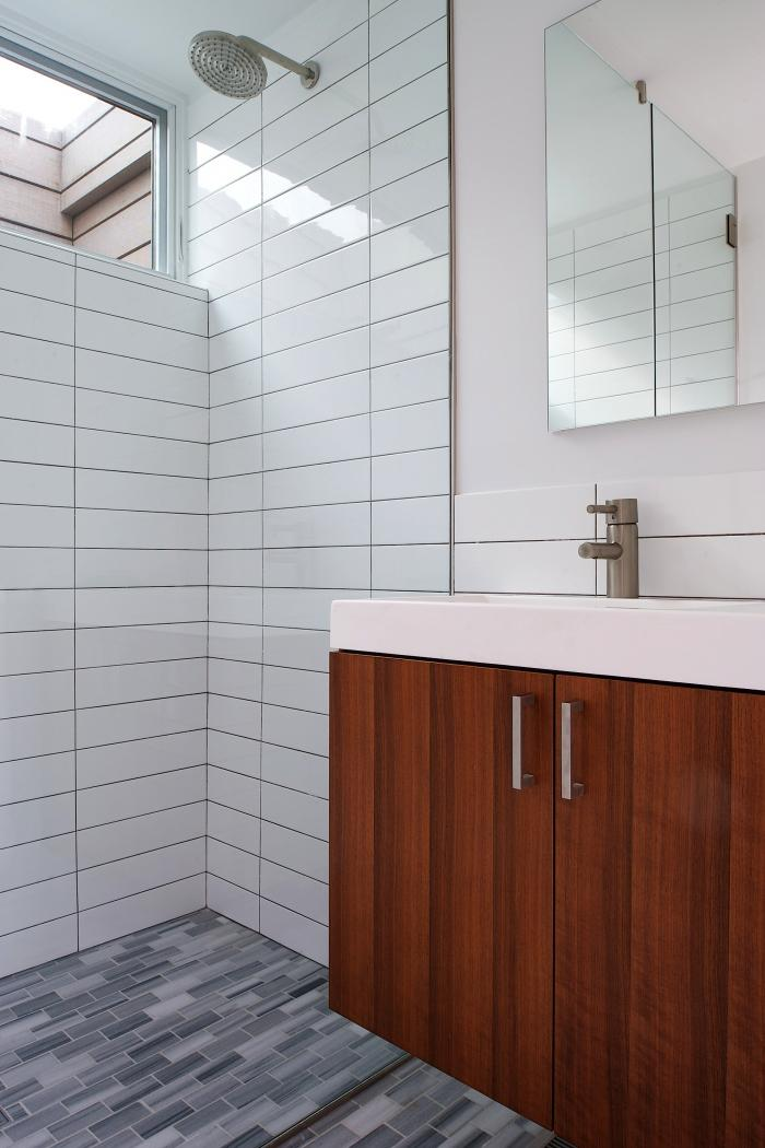 The Bathroom in a Stelle Architects build in Amagansett, NY